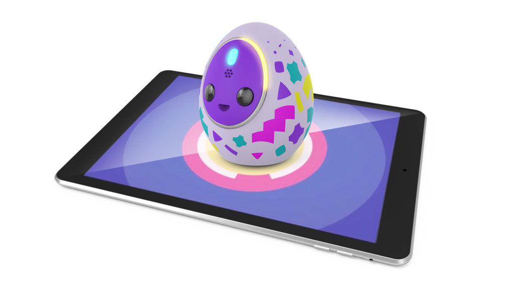 A toy like tamagotchi that works on smarpthones and tablets
